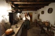 Presepe vivente: scena da medioevo