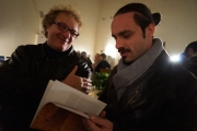 Simone Patriarca, architetto, e Daniele Torquati, Presidente Mun. XV