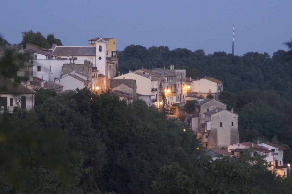 Skyline del Borgo da W by nite