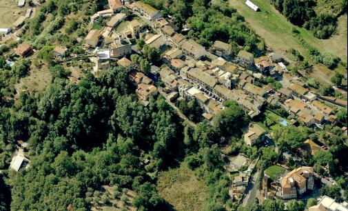 Come raggiungere il Borgo storico di Cesano di Roma