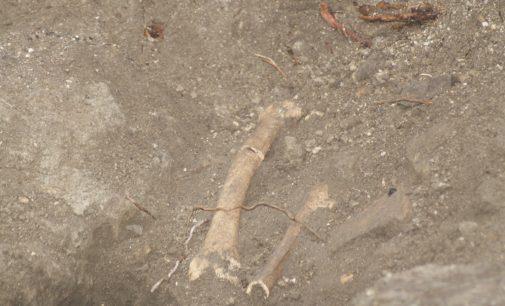 Affiorano resti umani durante i lavori alla chiesa di San Nicola