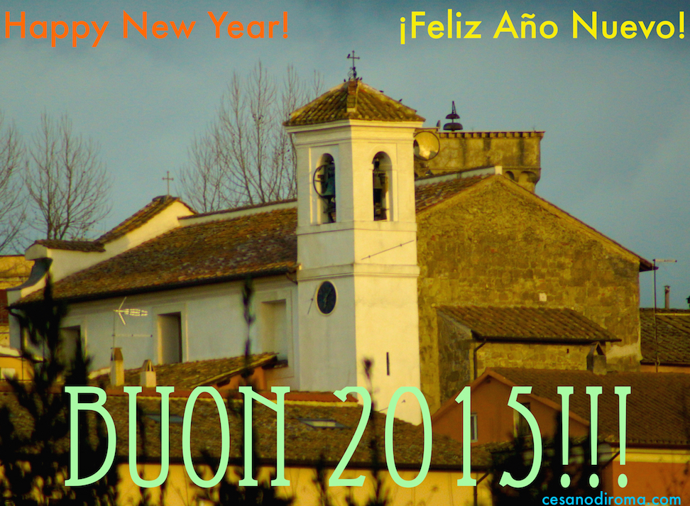Buon Anno 2015 da Cesano