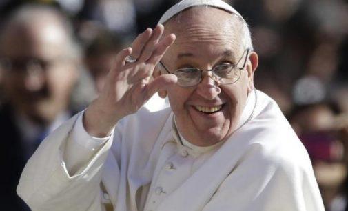 Delegazione del Football Club Oriolo da Papa Francesco