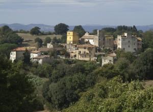 Skyline del Borgo di Cesano