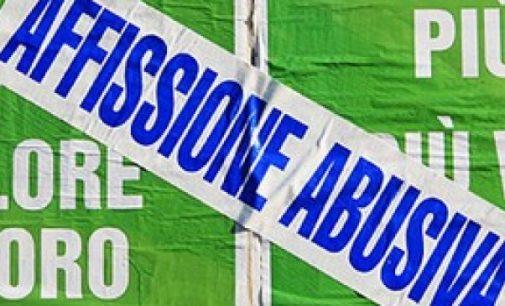 Manifesti abusivi: avviati a Bracciano controlli e sanzioni