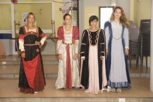 Corteo storico: prove costumi