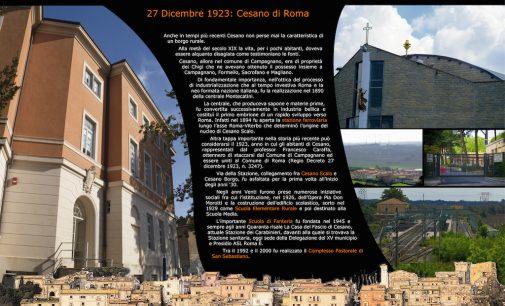 IV. 27 dicembre 1923: Cesano di Roma
