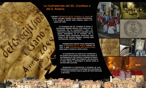 XIII. La Confraternita del SS. Crocifisso e S. Rosario