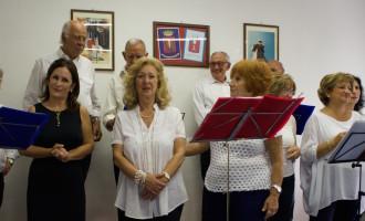 Il coro dell'Associazione del Fante