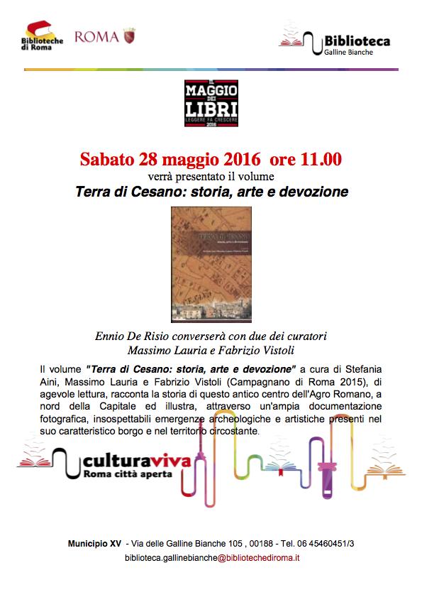 Terra di Cesano a Maggio dei Libri 2016
