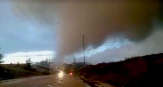 Come un bambino ha visto il tornado…