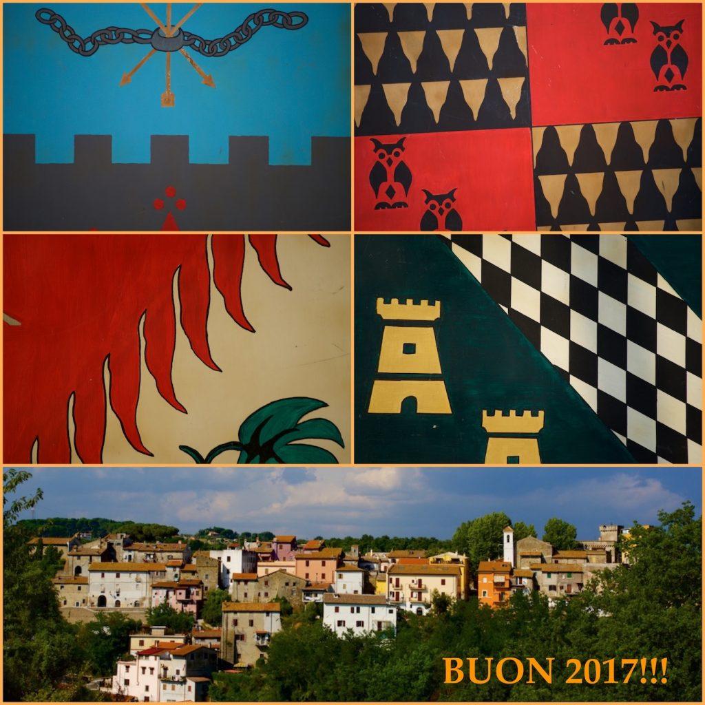 I rioni di Cesano ed il suo borgo storico