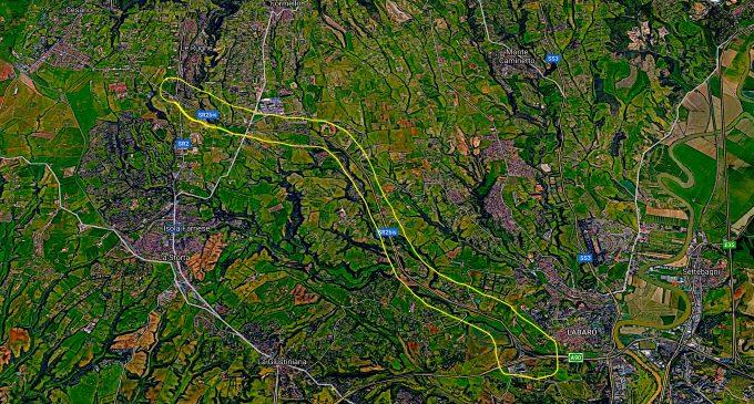 Limite di 30 km/h sulla Cassia Bis