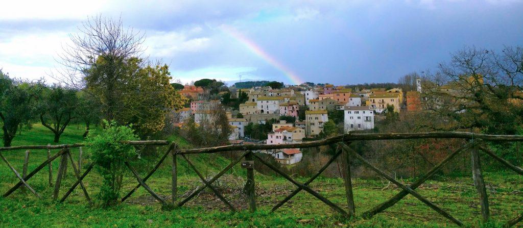 Il Borgo storico di Cesano da Via Casanuova