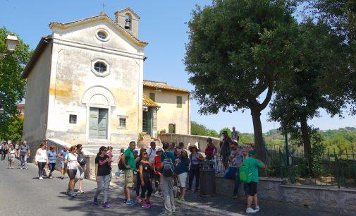 Il Cammino delle Terre Comuni arriva al Borgo di Cesano