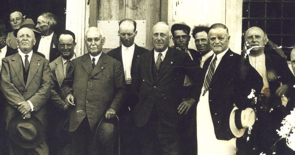 Università Agraria anni '20 foto di gruppo [cortesia di VMR]