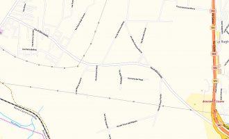 Via di Baccanello: marciapiede