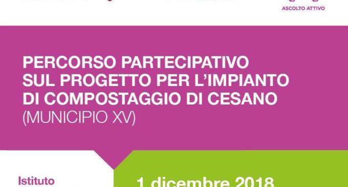 Per dire la tua sull'impianto di compostaggio: sabato 1° Dicembre II incontro del percorso partecipativo