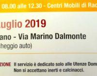 A Cesano, domenica, raccolta straordinaria ingombranti e non solo