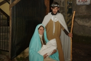 Presepe vivente: la Sacra Famiglia