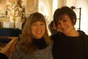Cristina Armeni, giornalista, e Stefania Aini, storica dell'arte