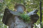 Particolare del portale della Villa Valdambrini (2008)