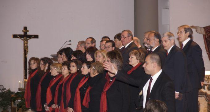 Coro in chiesa Domenica delle Palme