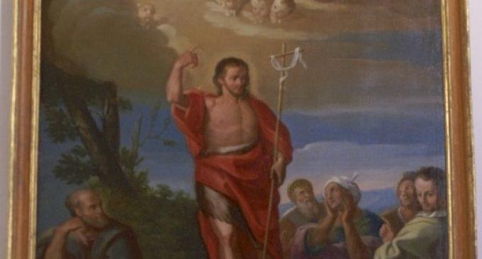 All'interno di San Giovanni Battista