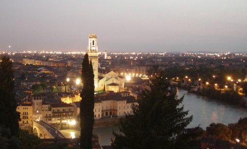 I cavalieri verso Verona