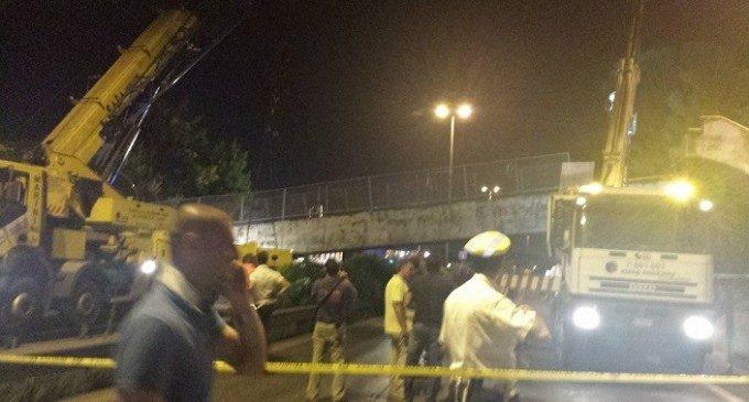 "Torquati: ""Riapertura via Flaminia stanotte alle ore 2, ponte verrà rimosso"""