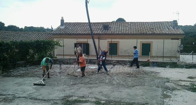 Lavori Cesano Borgo festa del SS. CROCEFISSO