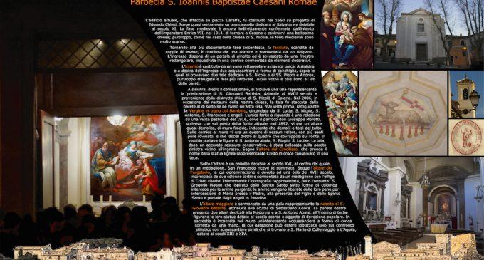 XI. Paroecia S. Iohannis Baptistae Caesani Romae
