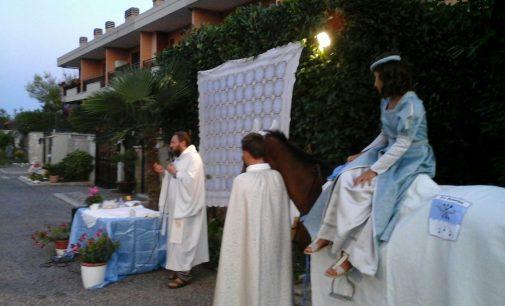 Rione San Sebastiano: la messa