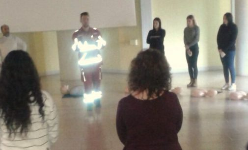 Tanti i partecipanti al corso di primo pronto soccorso