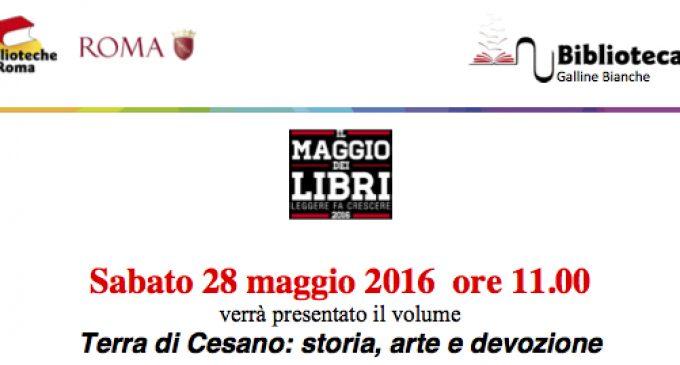 A Labaro, sabato 28 Maggio: Terra di Cesano!!!