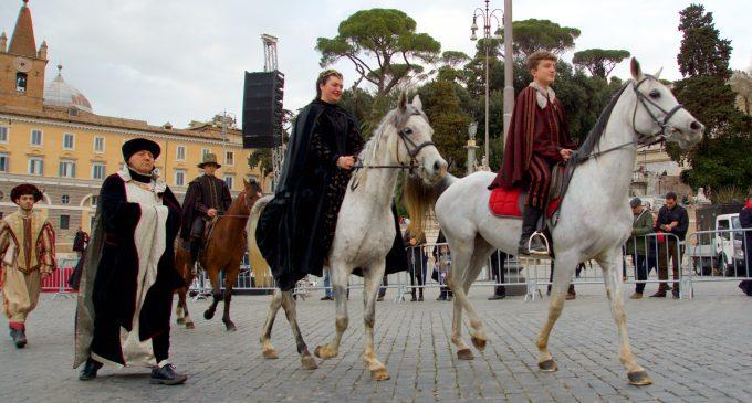 Carnevale Romano 2017: Cesano c'era!!!