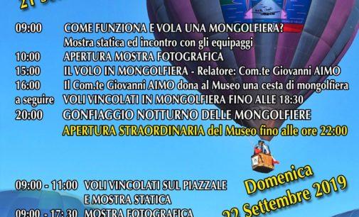 """Vigna di Valle sabato 21 e domenica 22 """"Mongolfiere sul lago"""""""
